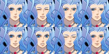 人間版雪女さん/顔グラ1