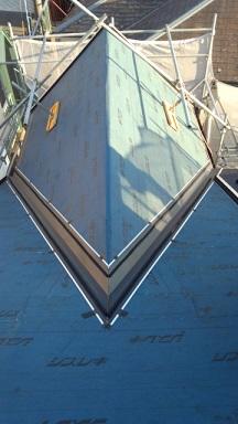 みらい住建 リフォーム 金属瓦葺き替え工事3号1日②縮小