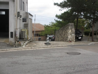 石畳道入り口