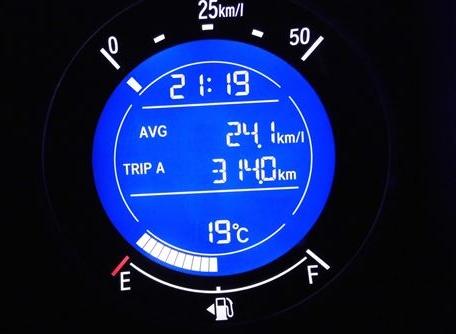 2705フィット燃費