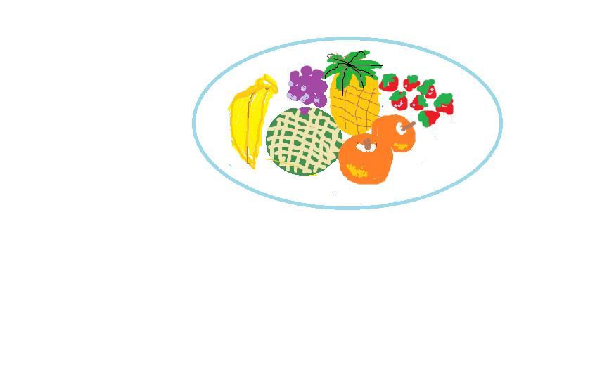 ペイント果物