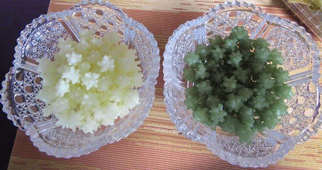 生姜とメロン味の金平糖 24.5.14