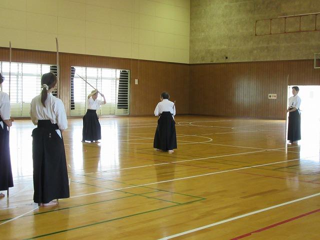 薙刀お稽古2日目 27.5.17