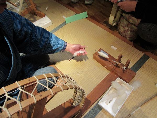 糸紡ぎ 難しい 27.4.21
