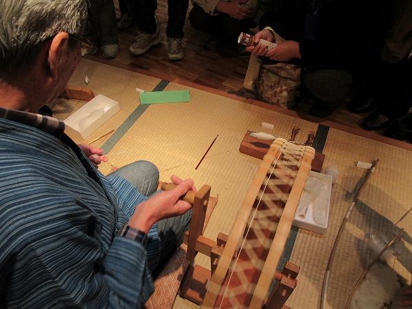 糸紡ぎ 27.4.21