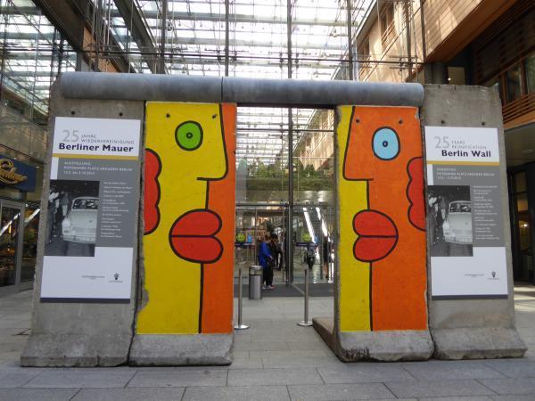 アルカーデン内ベルリンの壁