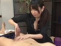 Men's痴女マッサージサロン ローション手コキ責め!有村千佳