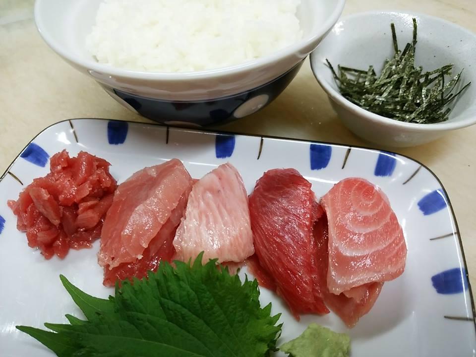 本マグロ 海鮮丼 まぐろ丼 ずどーん
