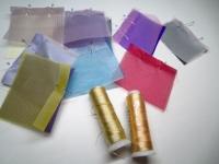 細い巻きの絹糸 シルクチョガッポ