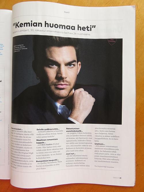 Adam Lambert Finnish Demi Magazine 08_2015
