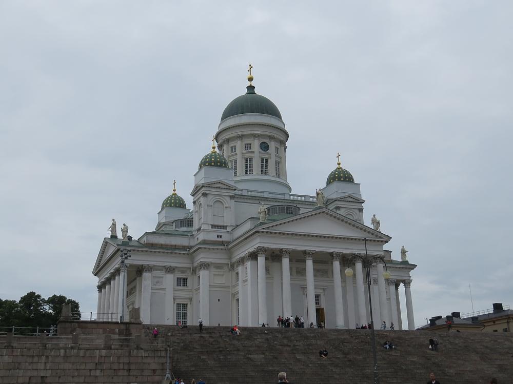 Helsinki Tuomiokirkko ヘルシンキ大聖堂