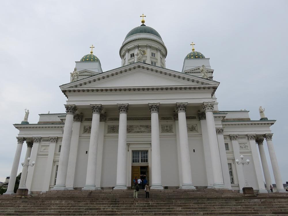 Helshinki Tuomiokirkko ヘルシンキ大聖堂