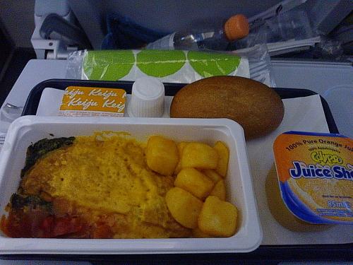 Finnair 機内食