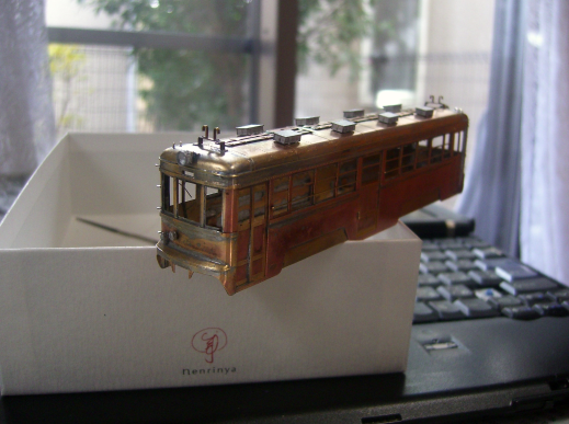 ムサシノモデル 玉電 70形 HO 1/80 16.5mm