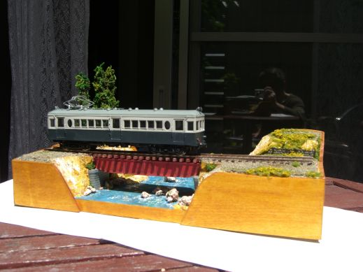ミニレイアウト HO16.5mm 橋