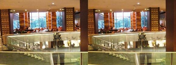 リーガロイヤルホテル大阪②(交差法)