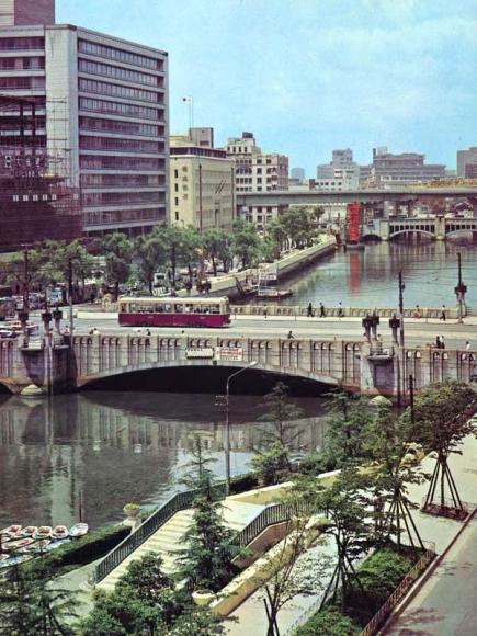 昭和40年ごろの淀屋橋