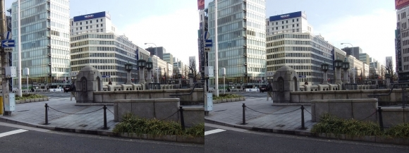 淀屋橋(交差法)