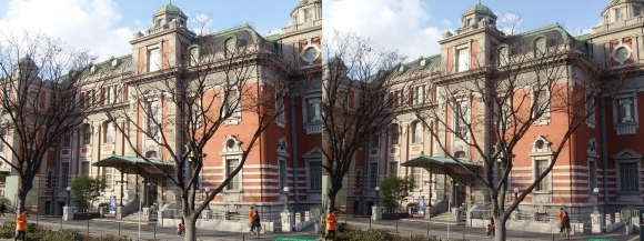 大阪市中央公会堂③(交差法)