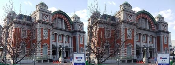 大阪市中央公会堂②(交差法)