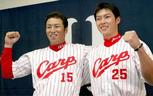 最多勝の黒田・本塁打王の新井 2005年