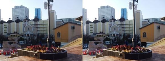 神戸ハーバーランドumie(平行法)