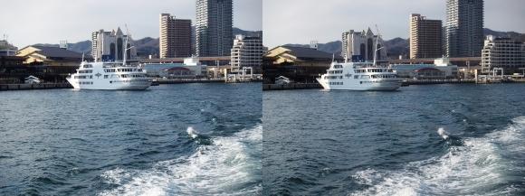 ファンタジー号からの眺め 神戸コンチェルト(交差法)