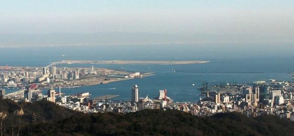 神戸港全景