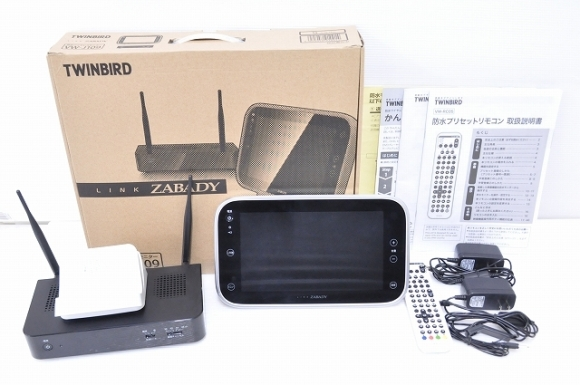 TWINBIRD 防水ワイヤレスモニター VW-J109S①