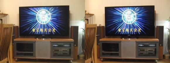 リビングルームテレビ(平行法)