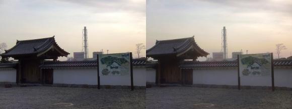 赤穂城跡 二之丸西仕切門(交差法)