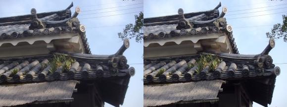 赤穂大石神社 大石内蔵助邸址②(平行法)