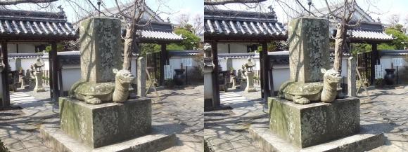 花岳寺 忠義塚①(平行法)