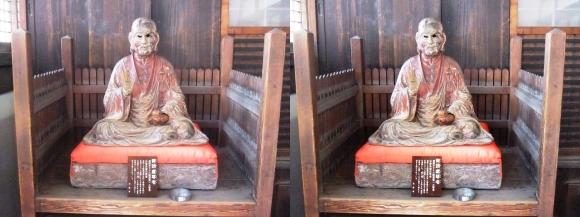 花岳寺 本堂 賓頭盧尊者(平行法)