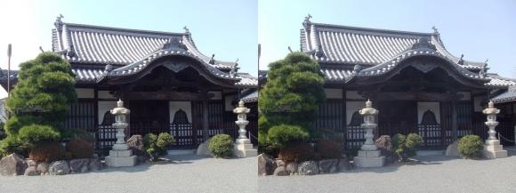 花岳寺 坐禅堂(交差法)