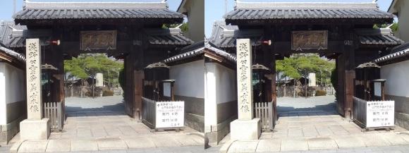 花岳寺 山門(平行法)
