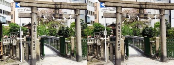 大阪天満宮⑥(交差法)