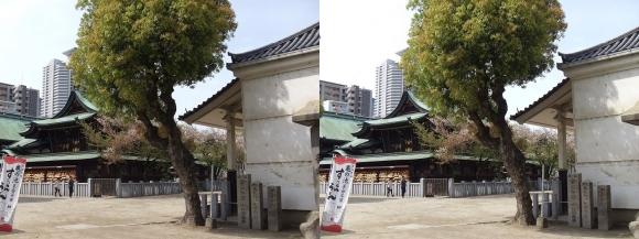 大阪天満宮⑤(平行法)