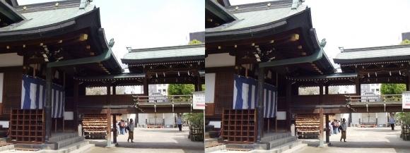 大阪天満宮③(平行法)