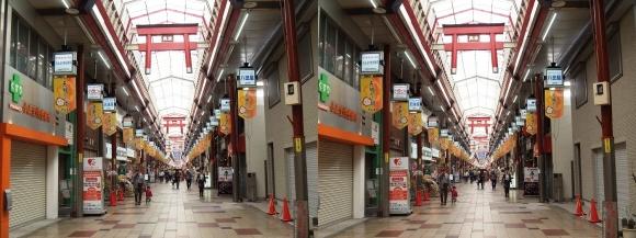 天神橋筋商店街③(交差法)