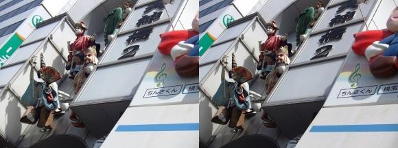 天神橋筋商店街②(交差法)