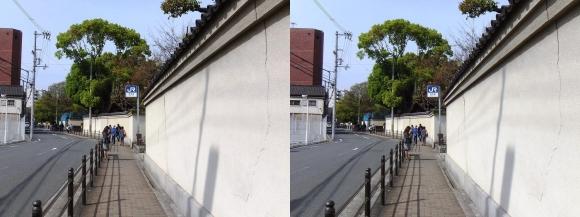 大阪城北詰駅出口(平行法)