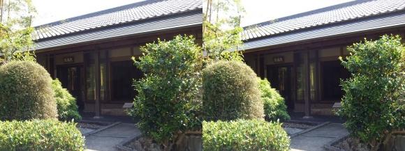竹の資料館 茶室(平行法)
