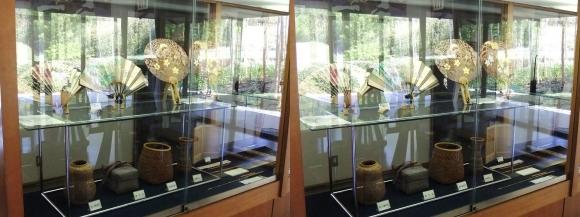 竹の資料館 館内展示物⑤(平行法)