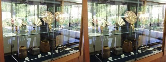 竹の資料館 館内展示物⑤(交差法)