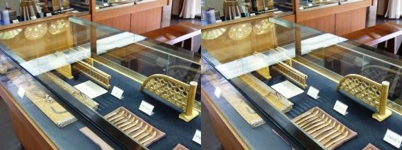竹の資料館 館内展示物④(平行法)