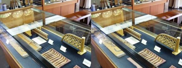 竹の資料館 館内展示物④(交差法)