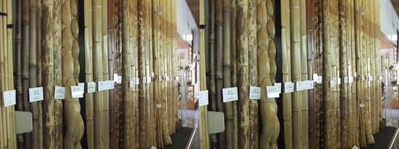 竹の資料館 館内展示物③(平行法)