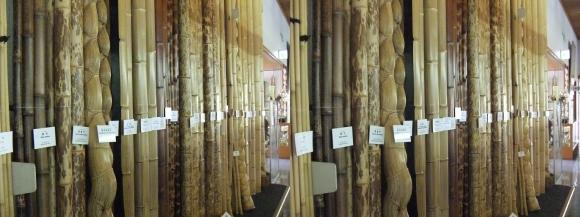 竹の資料館 館内展示物③(交差法)