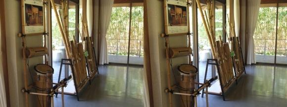 竹の資料館 館内展示物②(平行法)